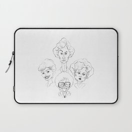 The Golden Girls - Caricature Sketch Laptop Sleeve