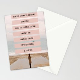 Someday, Somewhere, Anywhere... Stationery Cards