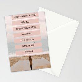Someday, Somewhere, Anywhere... Stationery Cards