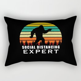 Social Distancing Expert Rectangular Pillow