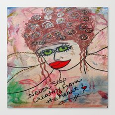 Fairy Art Mother Canvas Print