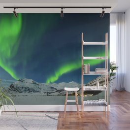 Northern Lights at Twilight Wall Mural