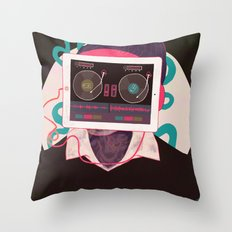 Listen Throw Pillow