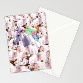 Epic Unicorn Ice Cream Stationery Cards