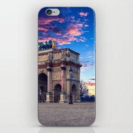 Carrousel du Louvre iPhone Skin
