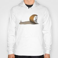 snail Hoodies featuring snail by gazonula