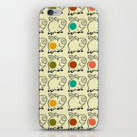 pigs iPhone & iPod Skins featuring pigs by ururuty