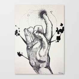 The Pointer Canvas Print