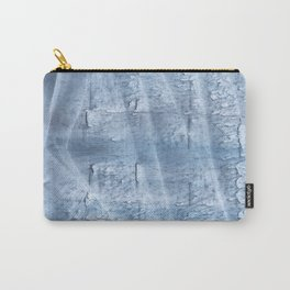 Light steel blue watercolor Carry-All Pouch