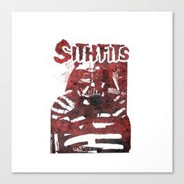 Sithfits - Blood Fiend Canvas Print