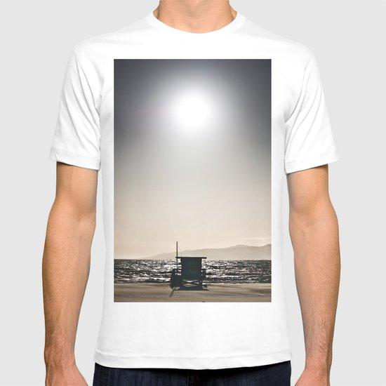 Venice Beach California Guard Tower T-shirt