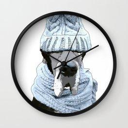 Great Dane Winter is Here Wall Clock