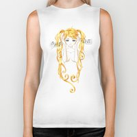 music Biker Tanks featuring Music by Freeminds