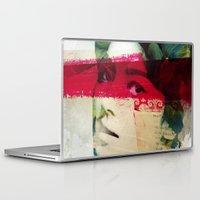 andreas preis Laptop & iPad Skins featuring Saigon Sally by Vin Zzep