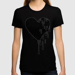 Bleeding Black Heart T-shirt