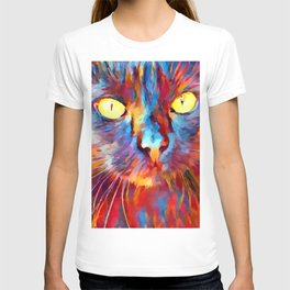 Cat Watercolor T-shirt