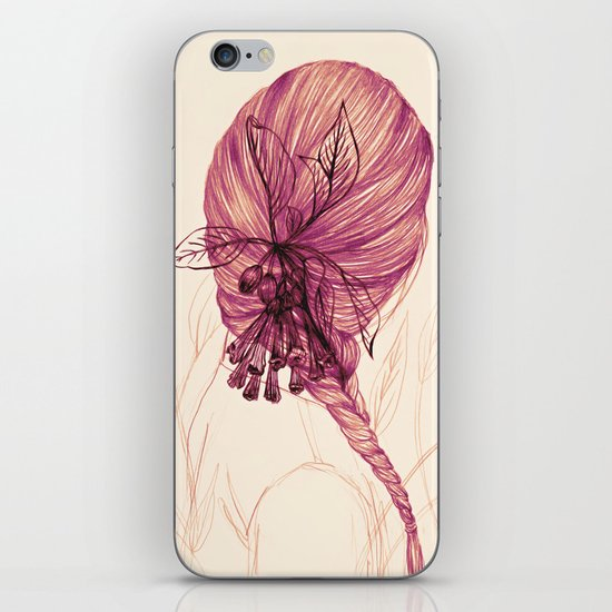 Hair Plant iPhone & iPod Skin