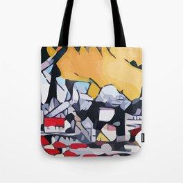 Abstract 100 #1 Tote Bag