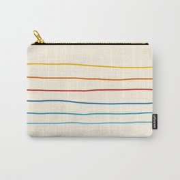 Abstract Retro Stripes #1 Carry-All Pouch