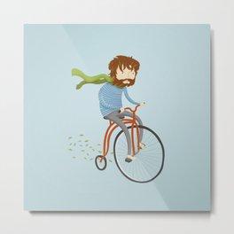 If I had a bike Metal Print