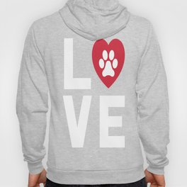 Animal Lover Dog Paw Print Love Dogs My Best Friend Shirt Hoody