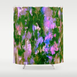Lilac Tree Shower Curtain