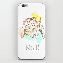 Mister R iPhone Skin
