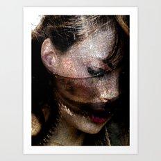 Machined Art Print