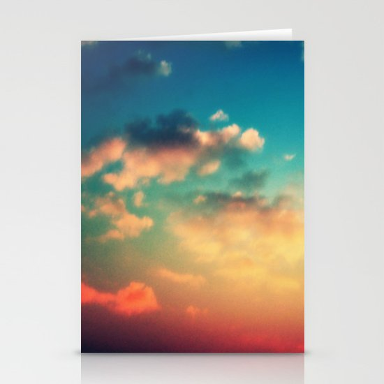 My Head is stuck in the Clouds Stationery Cards