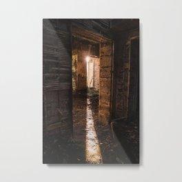 Urbex - abandoned castle in Scotland Metal Print