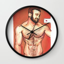 In the wild, some animals are too beautiful to cage up or tie down… Wall Clock
