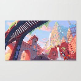 Zootopia - Concept Art Canvas Print