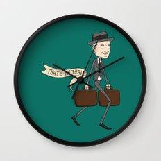 The Businessman Wall Clock