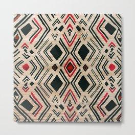 N58 - Traditional African Berber Moroccan Antique Style Artwork Metal Print