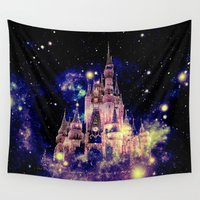 celestial Wall Tapestries featuring Celestial Palace by Whimsy Romance & Fun