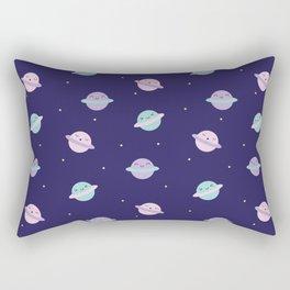Kawaii Pastel Planets Rectangular Pillow