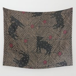 African Tribal Pattern No. 93 Wall Tapestry