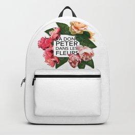 Va donc peter dans les fleurs Backpack