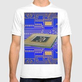 processor cpu board circuits T-shirt