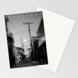 Party Lights in the City Stationery Cards