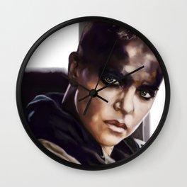 a woman scorned Wall Clock
