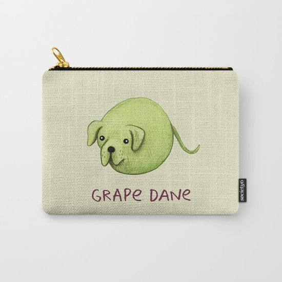 Grape Dane Carry-All Pouch
