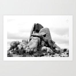 Big Boulders Art Print