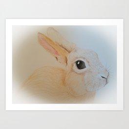 Henry Rabbit Art Print