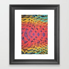 Interweaving Impulses // 101a Framed Art Print