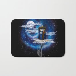 Live on the cloud in the BOX Doctor who iPhone 4 4s 5 5c 6 7, pillow case, mugs and tshirt Bath Mat