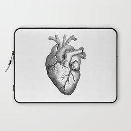 Real Anatomical Human Heart Drawing Laptop Sleeve