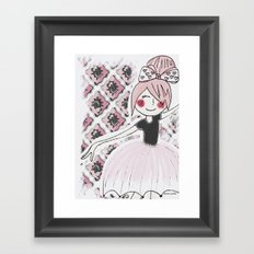 Little dancer Framed Art Print