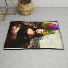Mona Lisa Birthday Girl Rug