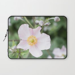 Pink Anemonies after the Rain Laptop Sleeve